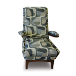 Barnes Upholstery Chair Image 6